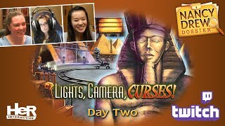 Nancy Drew Dossier: Lights! Camera! Curses! [Day Two: Twitch] | HeR Interactive