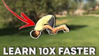 Video How To Do A Front Flip (BOTH WAYS!) download MP3, 3GP, MP4, WEBM, AVI, FLV September 2018