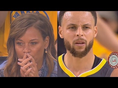 Stephen Curry S Mom Stressed Out While Watching Steph Seth Curry In Game 2 Youtube