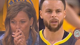 Stephen Curry's Mom Stressed Out While Watching Steph & Seth Curry In Game 2!