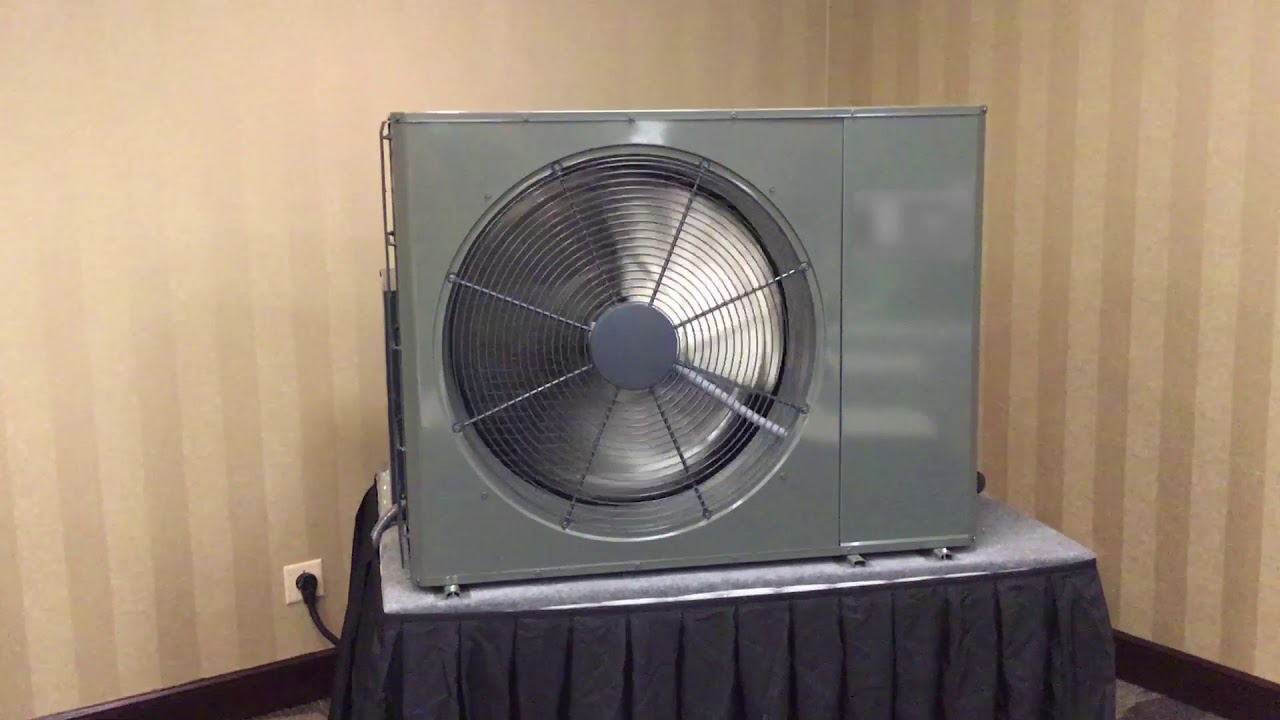 Ultra Quiet American Standard Platinum 19 Side Discharge Heat Pump!