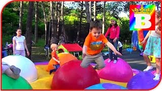 Outdoor Playground Fun for Family and Kids at Busfabriken  Bogdan`s show