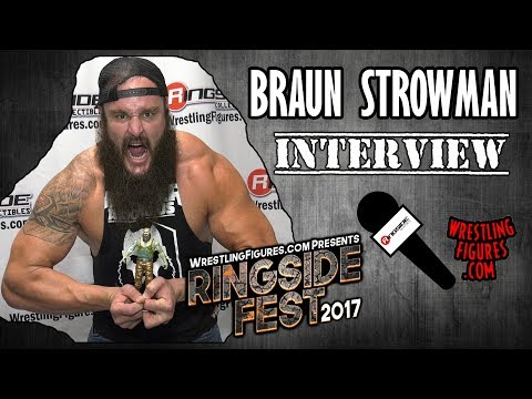 RINGSIDE FEST 2017: WWE Superstar Braun Strowman Interview!