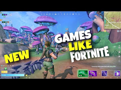 Top 10 New Games Like Fortnite Android & IOS 2019