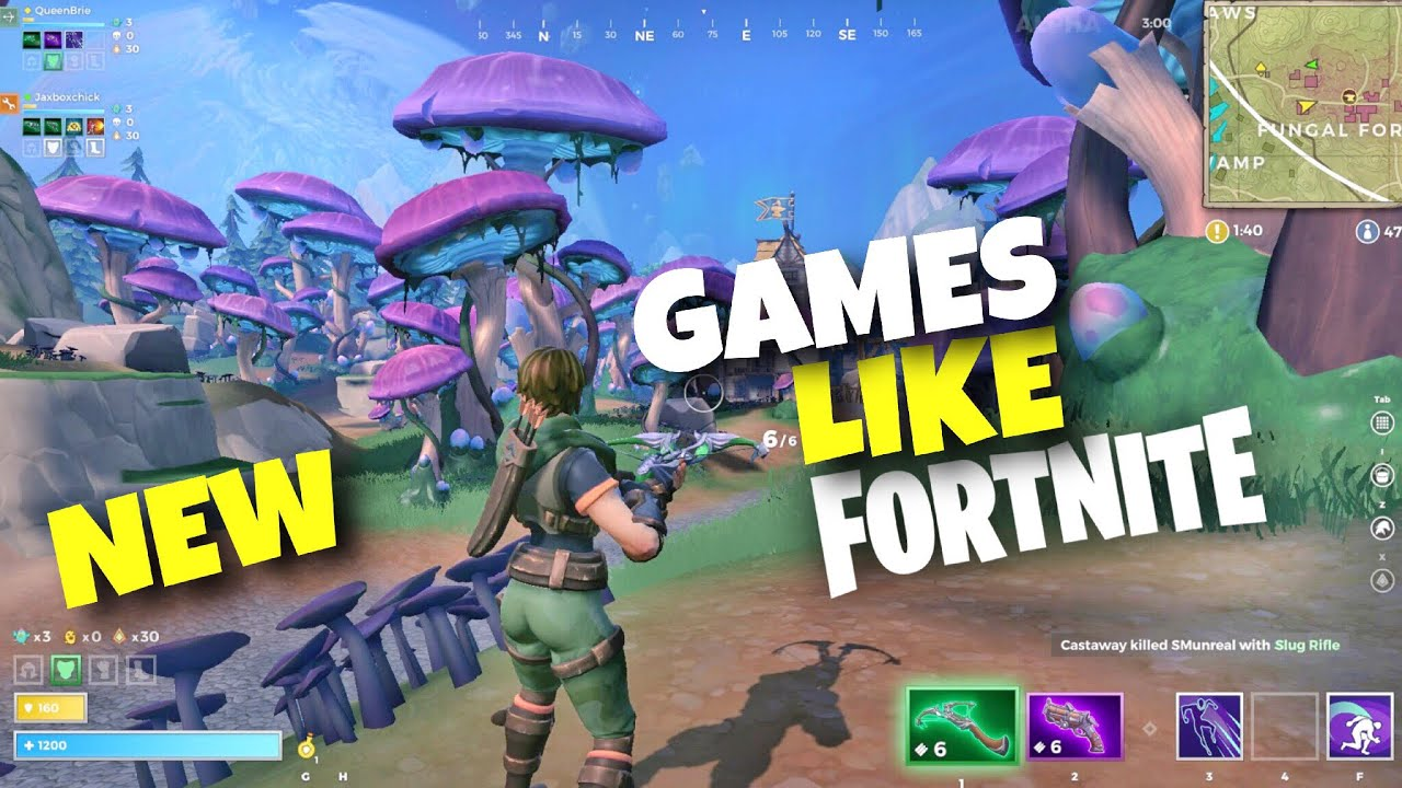 Top 10 New Games Like Fortnite Android Ios 2019 Youtube