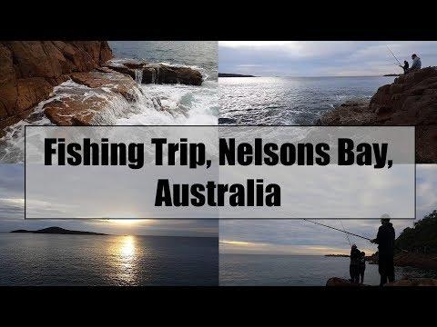 Rock Fishing- Nelson Bay, Australia