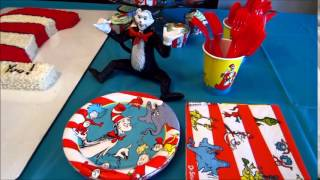 Dr. Seuss Birthday Party Decoration Ideas