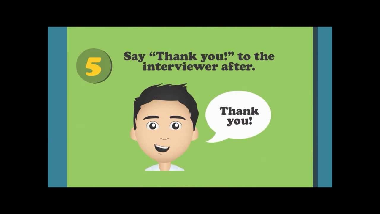 job interview dos and don ts motion graphics by hannah laurene job interview dos and don ts motion graphics by hannah laurene