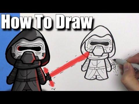 how-to-draw-a-cute-cartoon-kylo-ren---easy-chibi---step-by-step---kawaii
