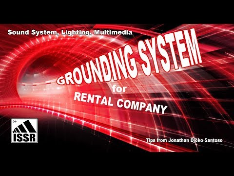 Ground electricity for rental company
