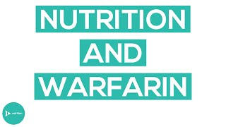 Important Nutrition Tips If You Are Taking Warfarin (Coumadin)