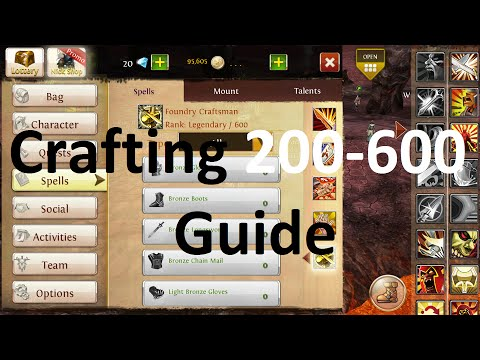 Order And Chaos Online - Crafting 200-600 Guide | Disax