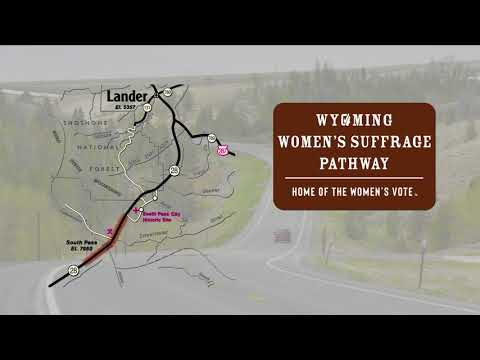 Wyoming Women's Suffrage Pathway