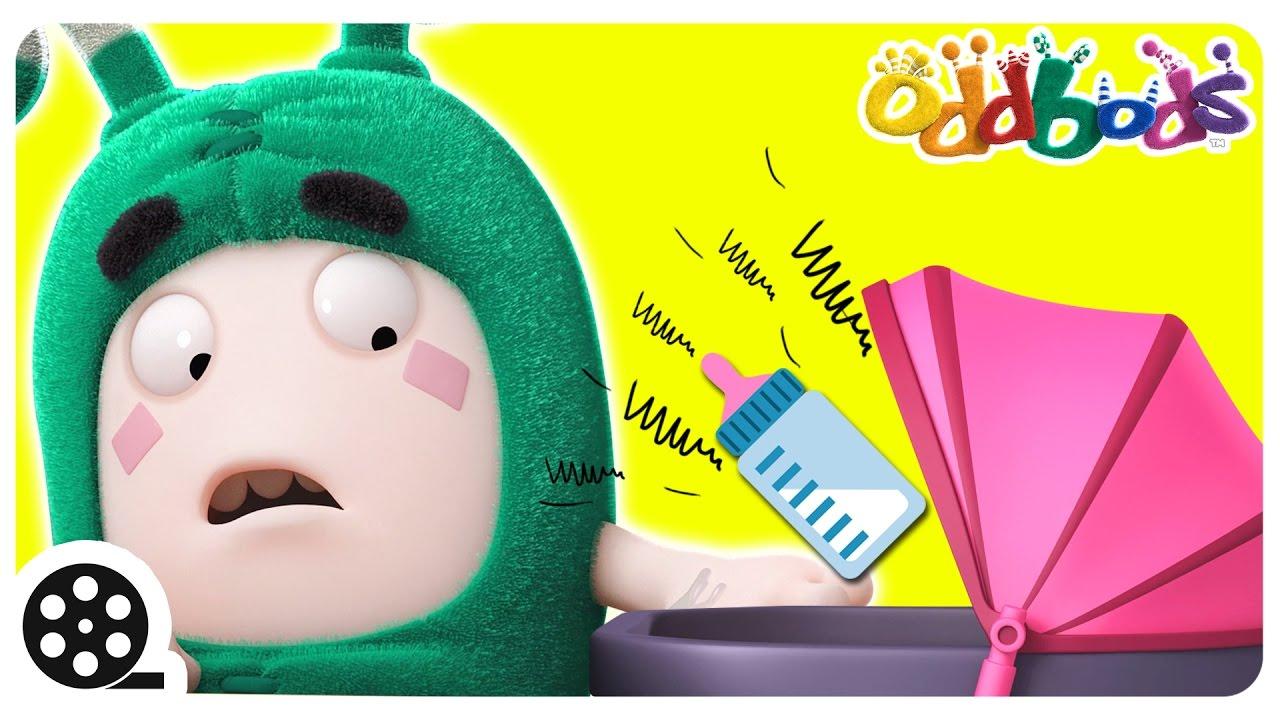 Oddbods   Bossy Baby   Babysitting With Zee   Funny Cartoons For Children