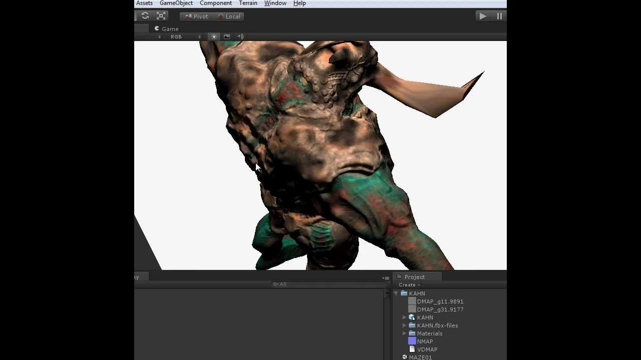 Importing Mudbox Model in to Unity 3D