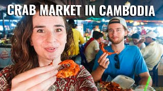 We Went To A CRAB MARKET In KEP, CAMBODIA