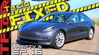 The Tesla is Finally BACK! So Why Did It Take 3 MONTHS To Fix It?  - Thrifty 3 E.16