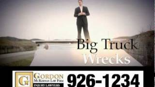 Trucking Accident & Car Wreck Lawyer - Gordon McKernan - So Darn Big 2