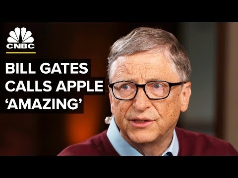 Bill Gates: Apple Is An 'Amazing' Company | CNBC