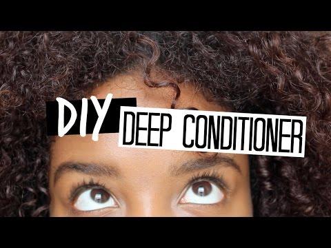 DIY Deep Conditioner || Dry Damaged Hair