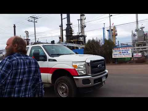 First amendment audit at culumet refinery