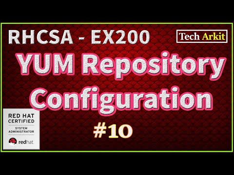 YUM Repository Configuration RHEL 7 Step By Step Guide