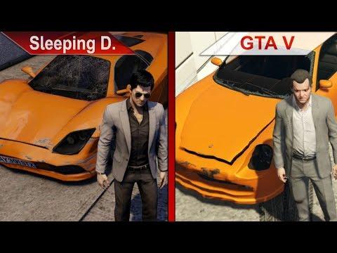 BIG COMPARISON | Sleeping Dogs: Definitive Edition vs. GTA V | PC | ULTRA | + BENCHMARK