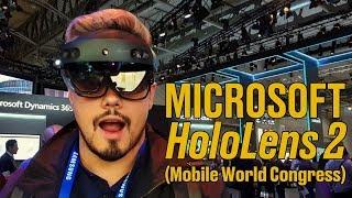 Microsoft HoloLens 2 HandsOn: realidad mixta para el trabajo 'de campo'