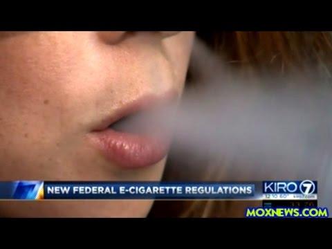 New Rules On E-Cigarettes