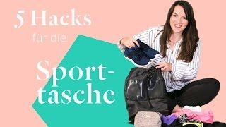 Video What's in my gym bag » 5 Hacks für die Sporttasche » Praktisch und platzsparend | Stylight download MP3, 3GP, MP4, WEBM, AVI, FLV Juni 2018
