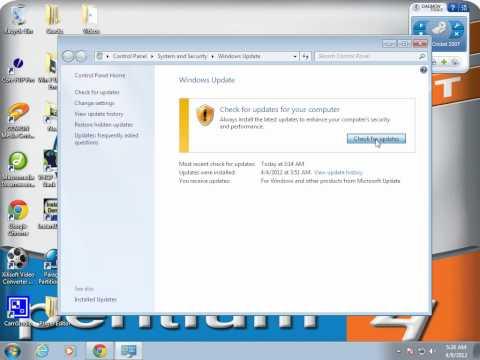How to Fix Windows 7 updating Error ? **HD 720p** Subtitles