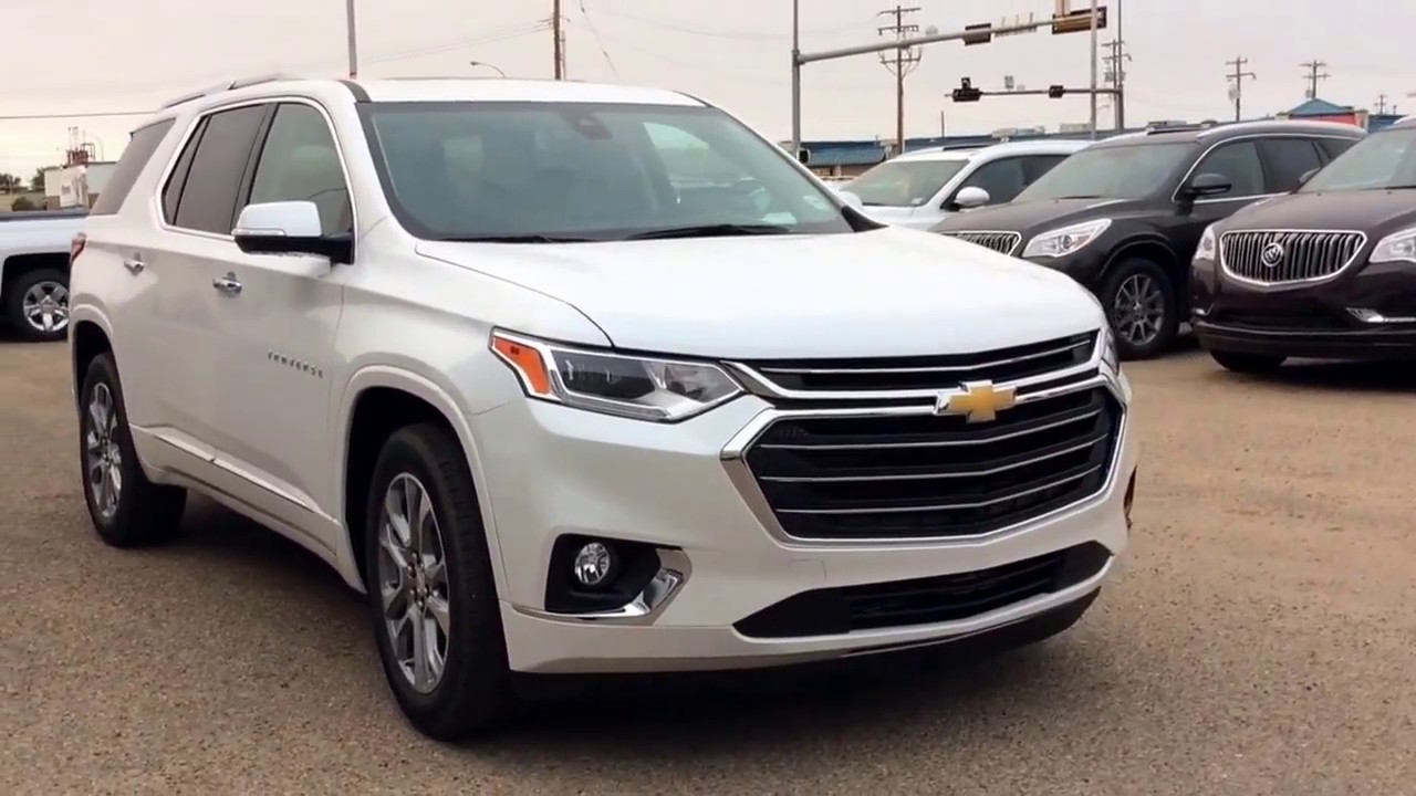 2018 Chevrolet Traverse Premier AWD with New Infotainment System, Surround Vision and SO MUCH ...