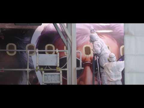 #AirAsiaKabali - The Making Of The KABALI Livery