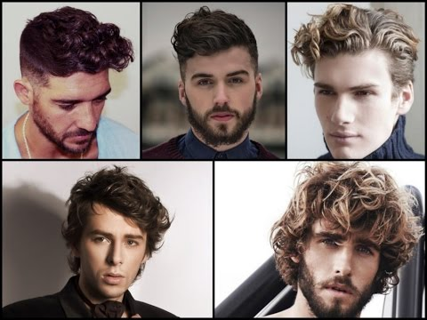 Top-25 Trendy Men's Curly Hairstyles! - YouTube