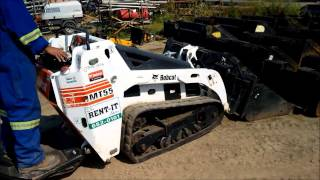 The Rent-It Store has a Compact Loader for you....MT55 Mini Trac Loader