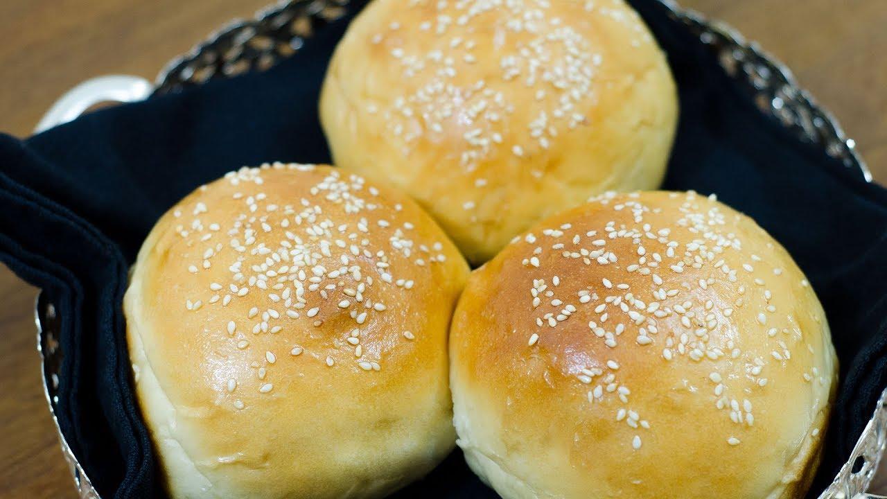 Burger Buns Recipe Best Eggless Hamburger Buns Super Soft
