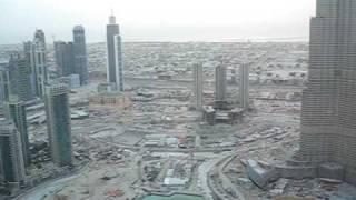 Burj Dubai: Looking Down, Then Up