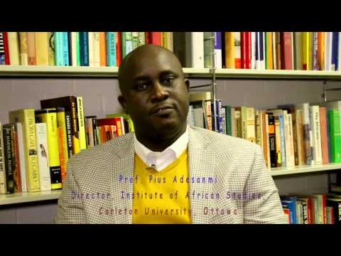 Professor  Pius Adesanmi, Director of The Institute of African Studies