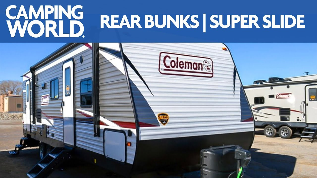 2019 coleman lantern 263bh travel trailer rv review camping world [ 1280 x 720 Pixel ]