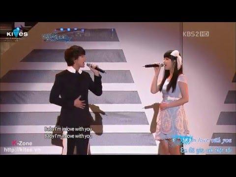 "[Vietsub] ""Dreaming"" And ""Maybe"" - Kim Soo Hyun & Suzy - Dream Concert 2011"