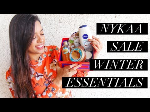 Things you MUST pick from the NYKAA sale | WINTER ESSENTIALS
