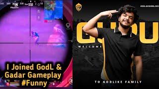 I Joined GodLike | QuickScope AWM Triple Knock 😮 | GodLGuruOP