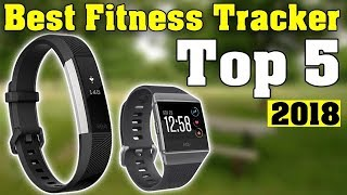 Top 5 LATEST FITNESS BANDS 2018 - Best fitness tracker