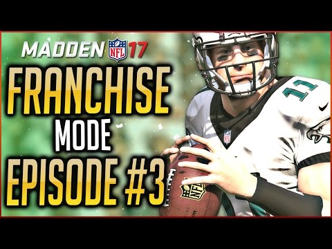 MADDEN 17 FRANCHISE MODE: EAGLES VENTURE INTO THE PLAYOFFS!