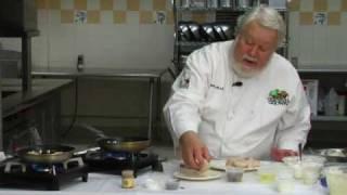 Virginia Farm Bureau-chef Maxwell: Scallops & Potato Cakes