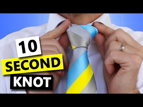 How To Tie Tie Super Fast And Easy