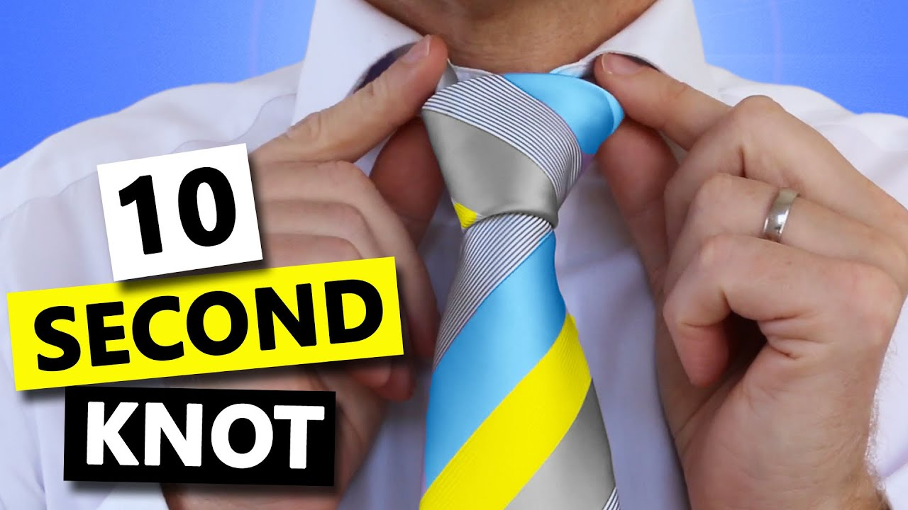 How to tie a tie super fast and easy youtube how to tie a tie super fast and easy ccuart Image collections