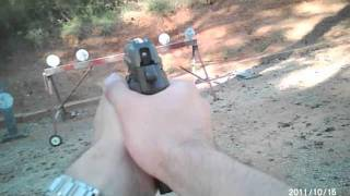 Shooting the Sig P229 SAS