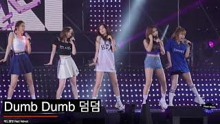 레드벨벳 Red Velvet [4K 직캠]Dumb Dumb 덤덤@20160710 Rock Music