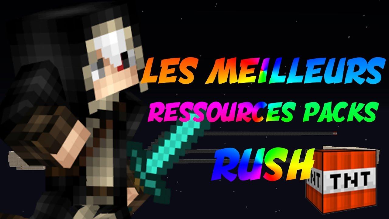 LES MEILLEURS TEXTURE PACK POUR RUSH FUNCRAFT v2 MINECRAFT ! - YouTube